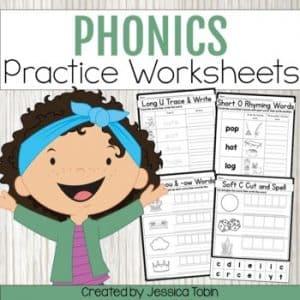 Phonics Worksheets - K,1,2 Phonics Activities
