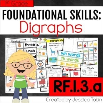 RF.1.3.a Digraph Activities