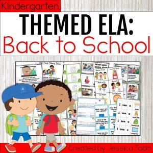 Kindergarten Back to School ELA