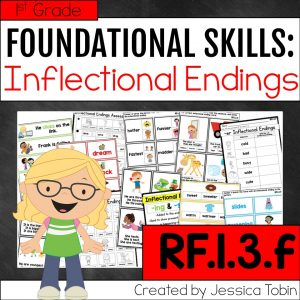 RF.1.3.f Inflectional Endings Activities