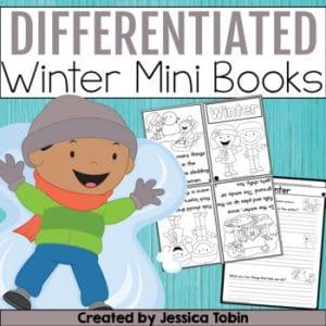 Differentiated Winter Reading Mini Books
