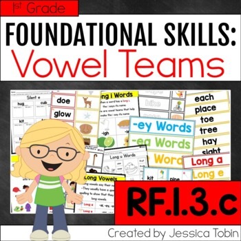 RF.1.3.c Vowel Teams Activities