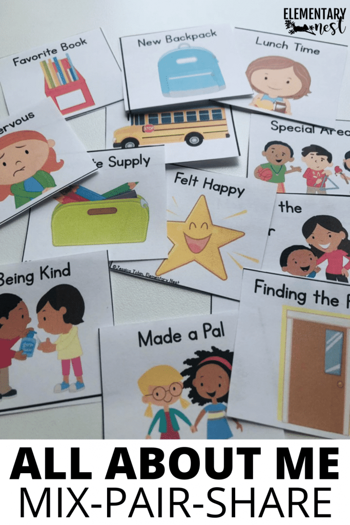 Check out these 'all about me' activities for the first week of school! There are lots of activities ideas to keep your kids engaged. From self-portraits to discussions to digital books, students will get to share all about themselves during your back to school time.