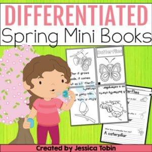 Spring Reading Mini Books