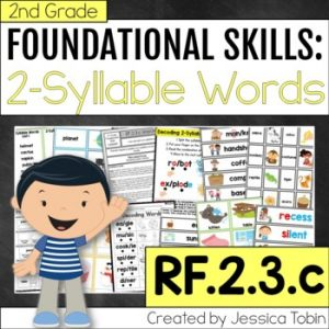 RF.2.3.c Two Syllable Words