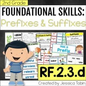 RF.2.3.d Prefixes and Suffixes