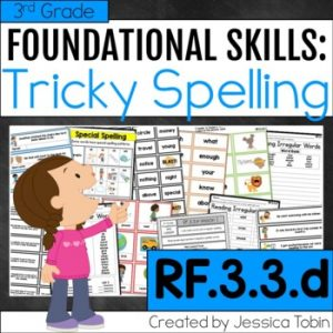 RF.3.3.d- Irregularly Spelled Words