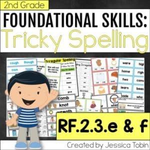 RF.2.3.e&f Inconsistent Spelling