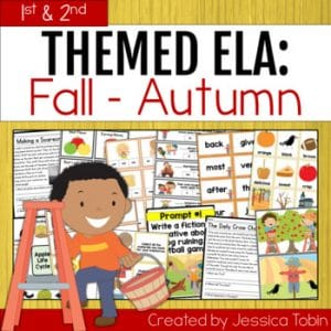 1st & 2nd Grade ELA Fall Activities